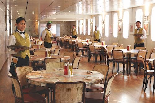 restaurant buffet Costa Croisières Neo Classica