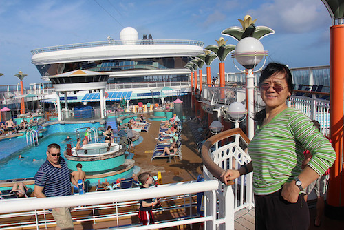 piscine Norwegian Dawn NCL