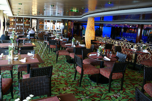 restaurant blue lagoon Norwegian gem NCL