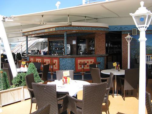 bar extérieur norwegian Jewel