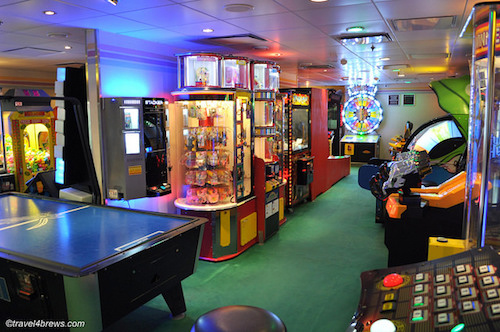 salle jeux vidéos norwegian spirit