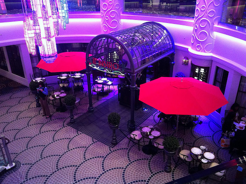 restaurant français le bistro NCL Getaway