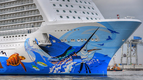 coque fresque norwegian escape