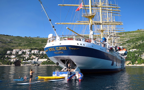 plateforme nautique star clippers royal clipper