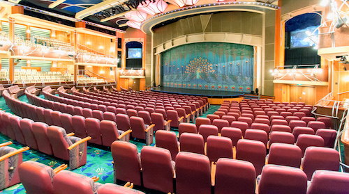 theatre broadway adventure of the seas RCCL