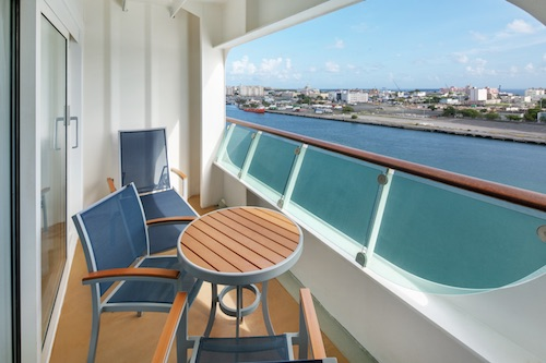 balcon cabine suite royal Caribbean adventure of the seas