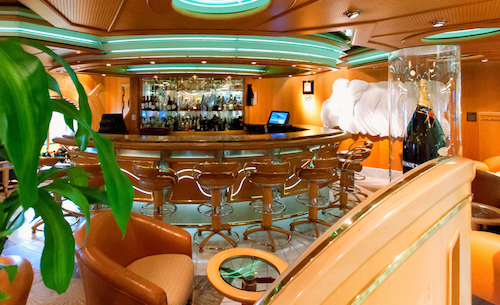 bar lounge diamonds adventure of the seas royal caribbean