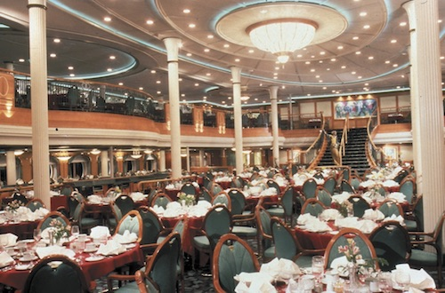 salle à manger grandeur of the seas rccl