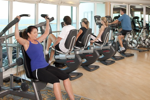 salle fitness royal caribbean grandeur of the seas