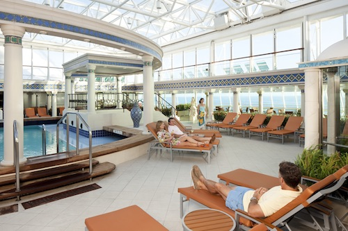 solarium grandeur of the seas royal caribbean