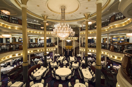 restaurant voyager of the seas royal caribbean
