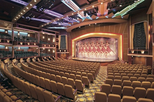savoy théâtre mariner of the seas royal caribbean