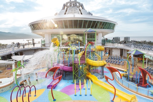 aquapark liberty of the seas rccl
