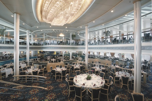 restaurant vision of the seas rccl