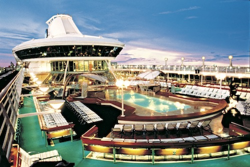 piscine solarium vision of the seas rccl