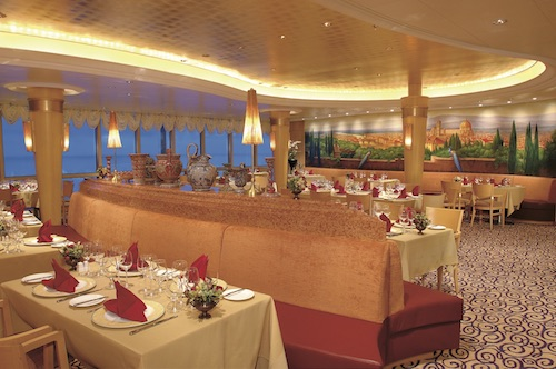 restaurant portofino jewel of the seas royal caribbean