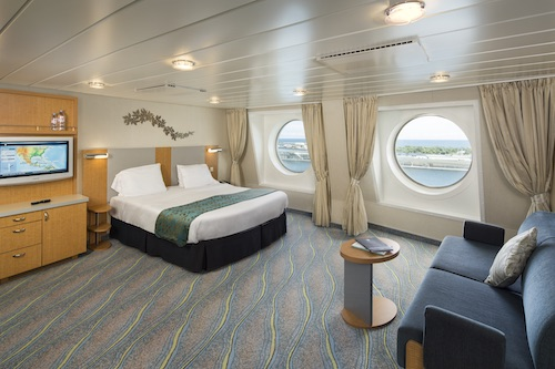 cabine sabord oasis of the seas Royal Caribbean