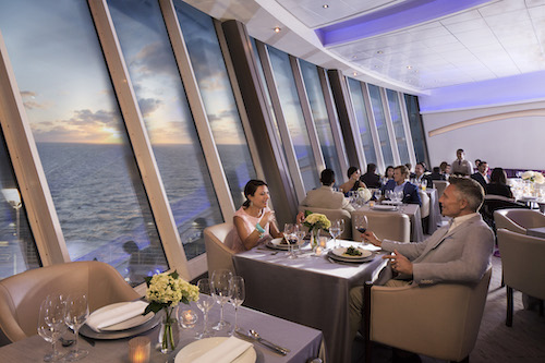 restaurant Royal Caribbean oasis of the seas