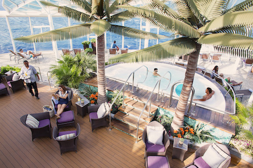 solarium oasis of the seas Royal Caribbean