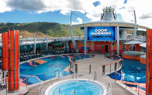 piscine Royal Caribbean freedom of the seas