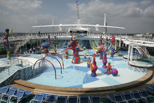 H2O Zone freedom of the seas Royal Caribbean