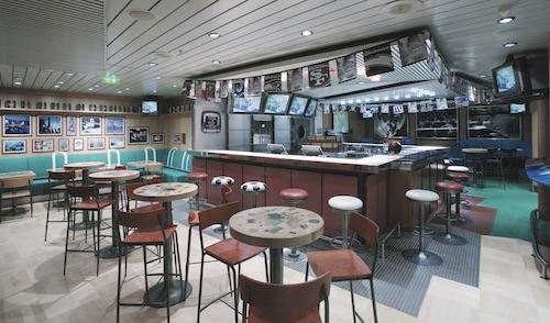 sport bar explorer of the Seas RCCL