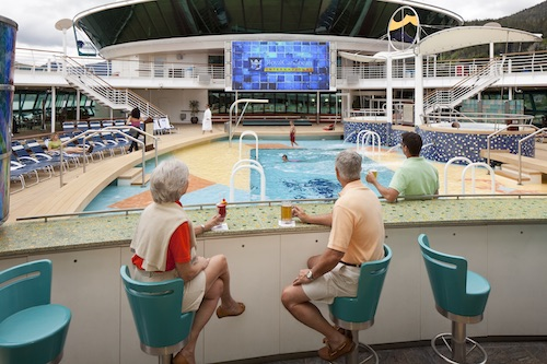 piscine radiance of the seas Royal Caribbean