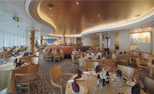 restaurant royal caribbean serenade of the seas