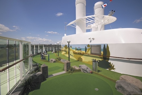 mini golf serenade of the seas rccl