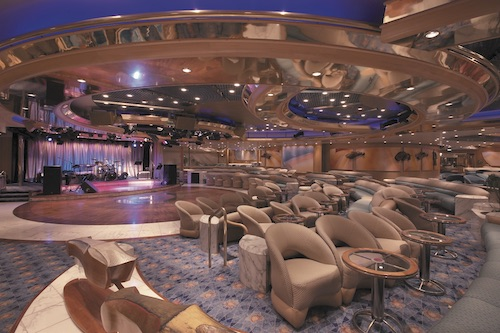 lounge enchantment of the seas royal caribbean