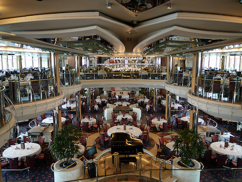 restaurant legend of the seas Royal Caribbean
