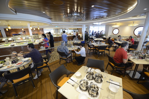 bistro solarium quantum of the seas Royal Caribbean