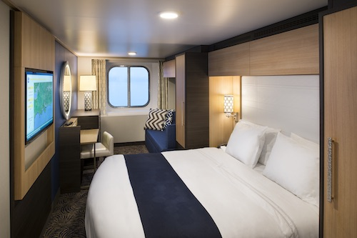 cabine vue mer quantum of the seas Royal Caribbean