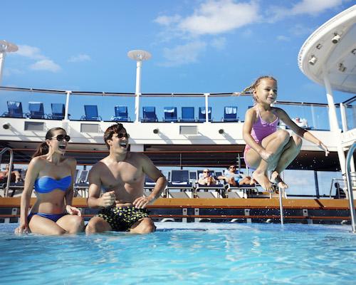 piscine famille quantum Royal Caribbean