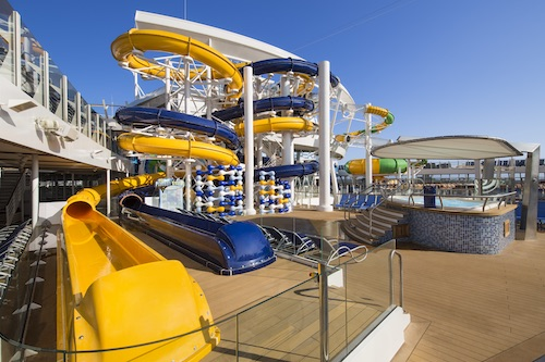 toboggans aquatiques Harmony of the seas