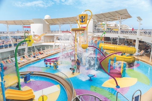 H2O Zone Harmony of the Seas Royal Caribbean
