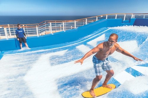 simulateur surf Royal Caribbean harmony of the seas