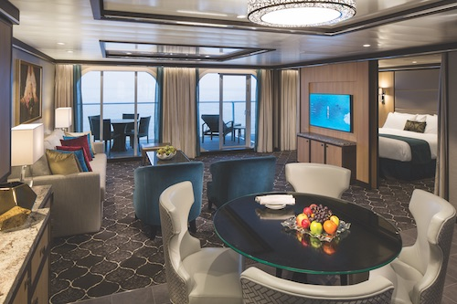 cabine suite symphony of the seas Royal Caribbean