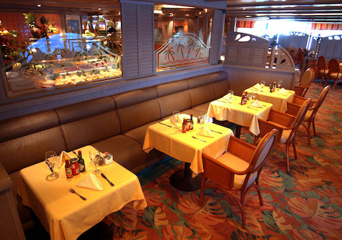 restaurant caribbean princesss cruises