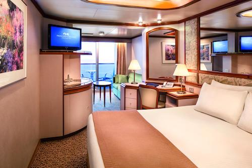 cabine mini suite caribbean princess
