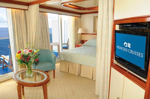cabine suite coral princess