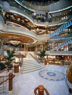 atrium coral princess cruises