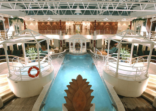 piscine coral princess cruises