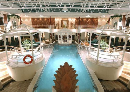 piscine coral princess cruises