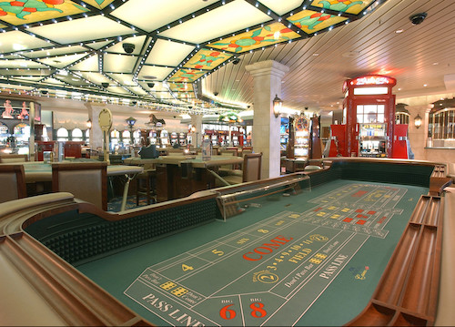 casino coral princess cruises