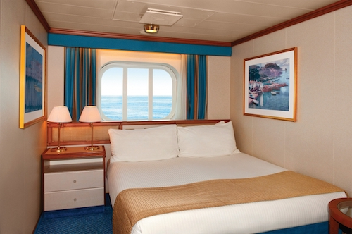 cabine crown princess cruises