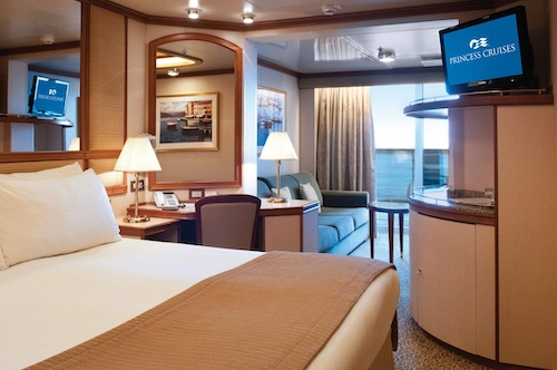cabine emerald princess