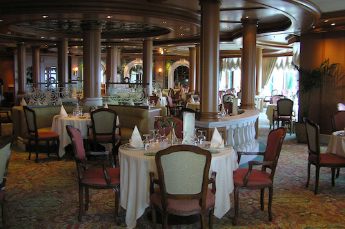 restaurant emerald princess