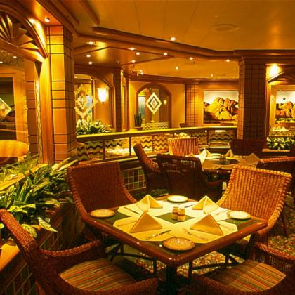 restaurant island princess cruises