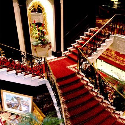 escaliers intérieurs Pacific princess
